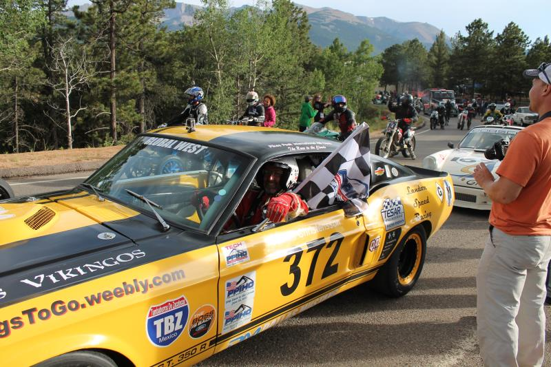Winner in class Pikes Peak 2014